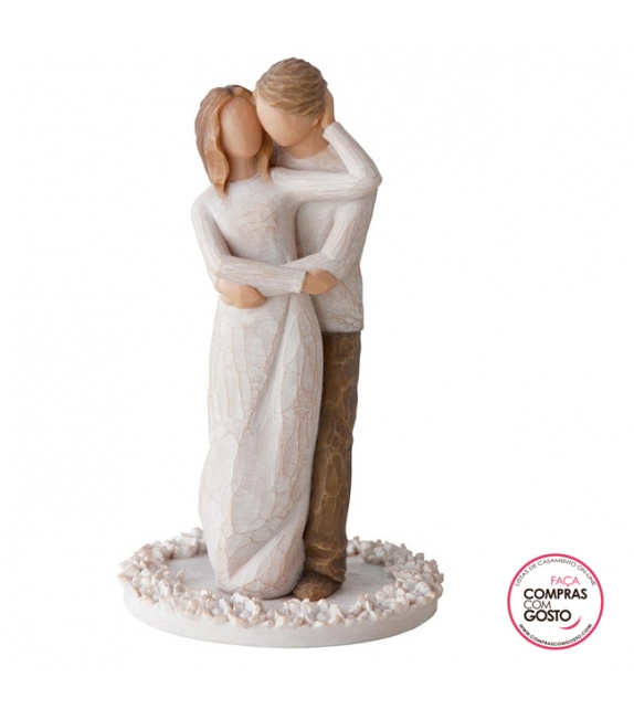 """ Together Cake Topper"" Willow Tree"