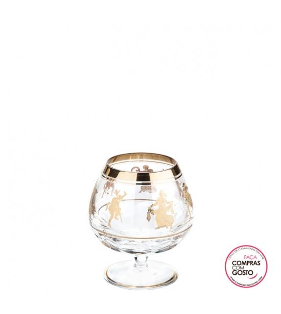 """Balão de Cognac """"Jubilee"""" em Cristal Vista Alegre"""