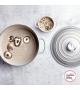 Caçarola 24 cm de Ferro Fundido Mist Grey Le Creuset