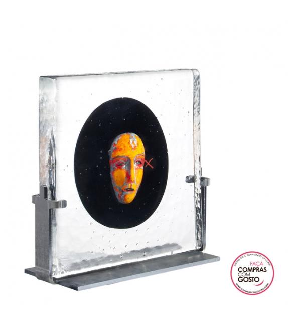 "Escultura ""Black Elements"" Kosta Boda"