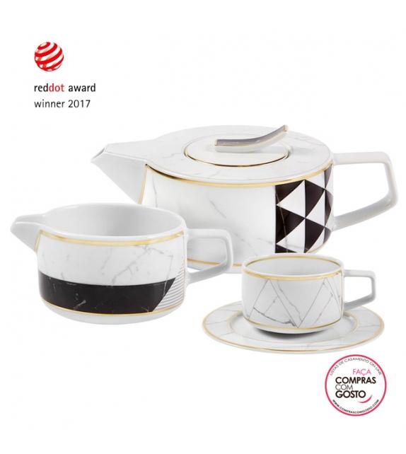 """Serviço de Chá 15 Peças """" Carrara"""" VA"""